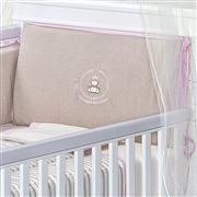 Quarto para Bebê Dupla Face Royal Rosa