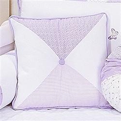 Almofada Decorativa Triângulos Dara Lilás