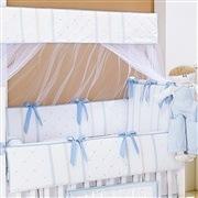 Quarto para Bebê sem Cama Babá Guto Azul Bebê