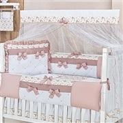 Quarto para Bebê Charlotte Floral Rosê