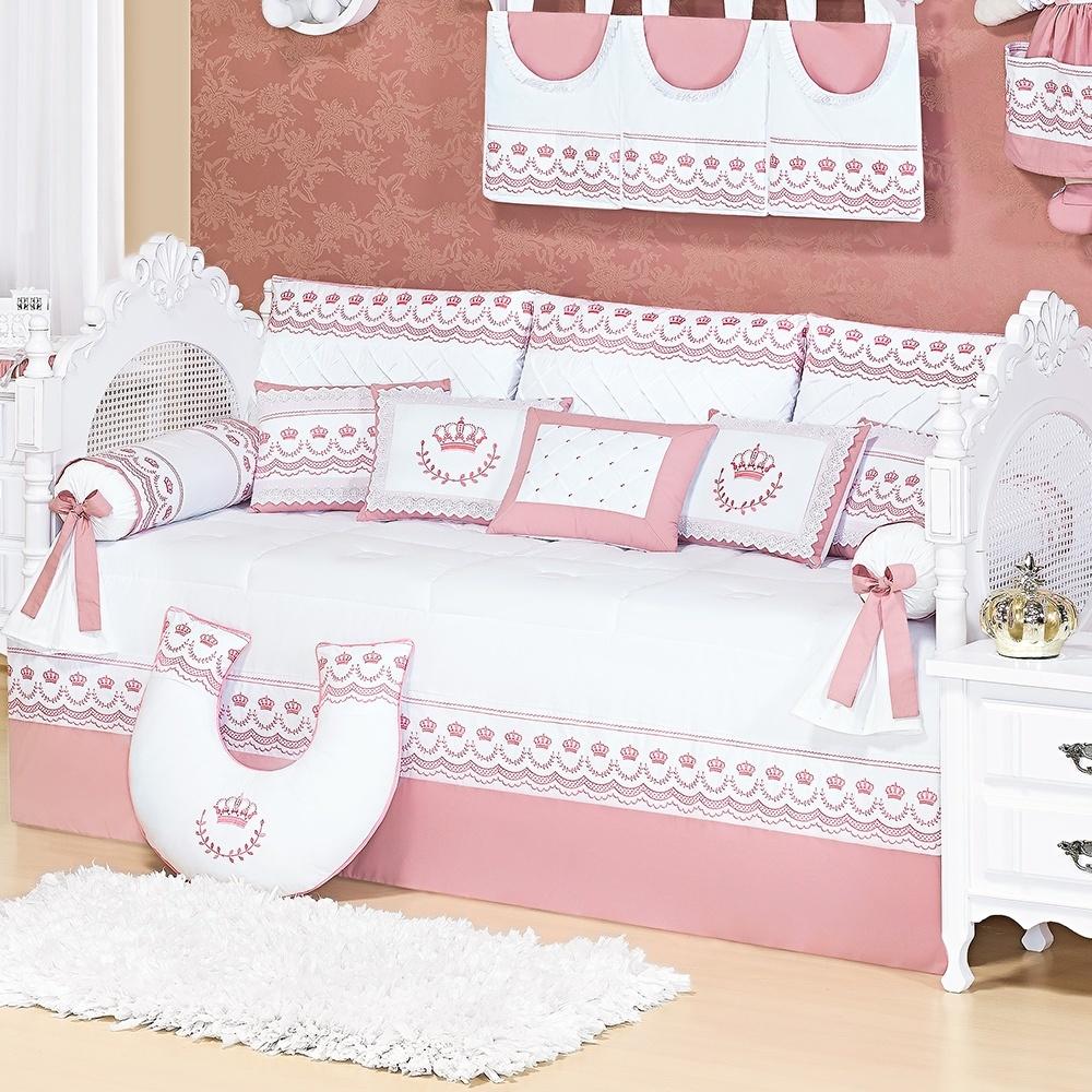 Kit Cama Babá Elegance Rosé