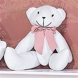 Enfeite Urso P Elegance Rosé