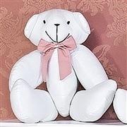 Enfeite Urso M Elegance Rosé