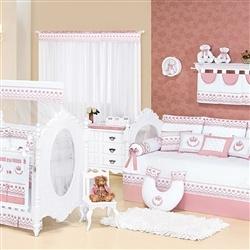 Quarto para Bebê Elegance Rosê