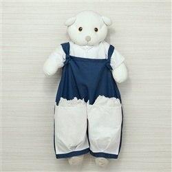 Porta Fraldas Urso Elegance Marinho