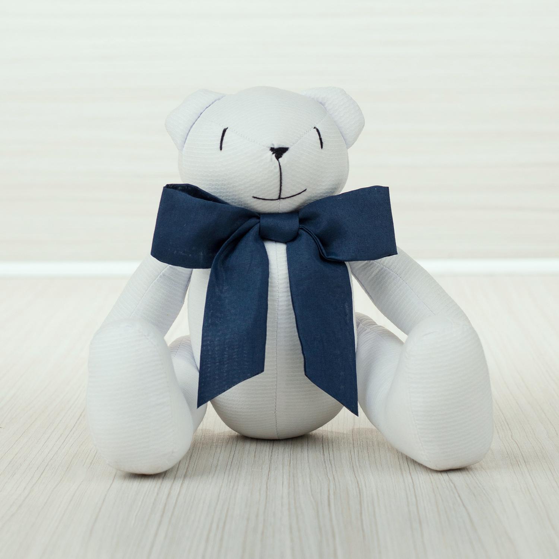 Enfeite Urso M Elegance Marinho