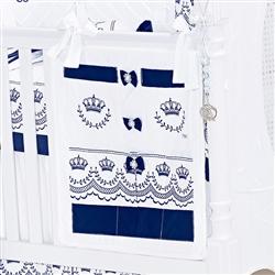 Porta Treco Elegance Marinho