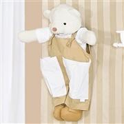Porta Fraldas Urso Elegance Nude