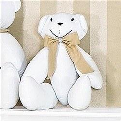 Enfeite Urso P Elegance Nude
