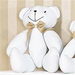 Enfeite Urso M Elegance Nude