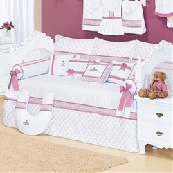 Kit Cama Babá Noble Rosé