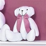 Enfeite Urso P Noble Rosé