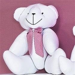 Enfeite Urso M Noble Rosé