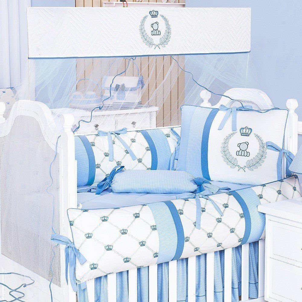 Kit Berço Classic Azul