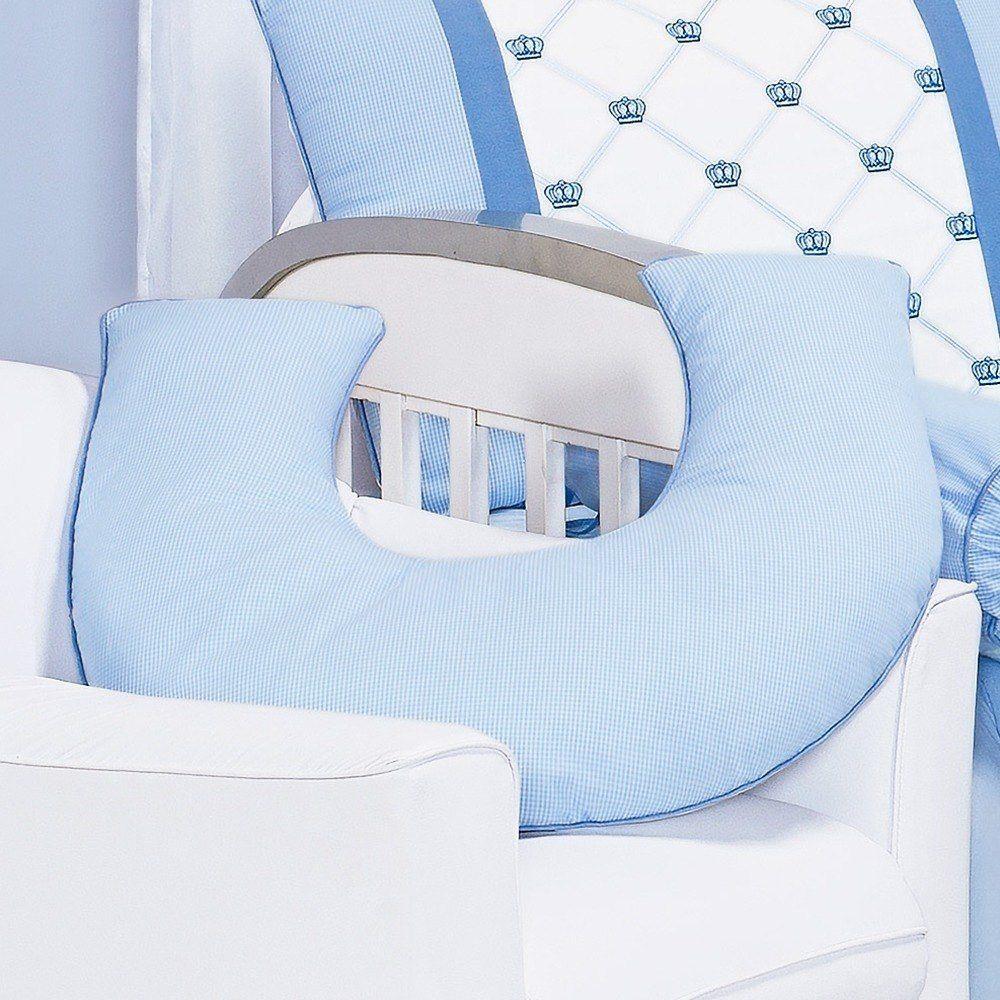 Almofada Amamentação Classic Azul
