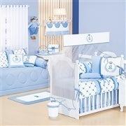 Quarto para Bebê Sem Cama Babá Classic Azul