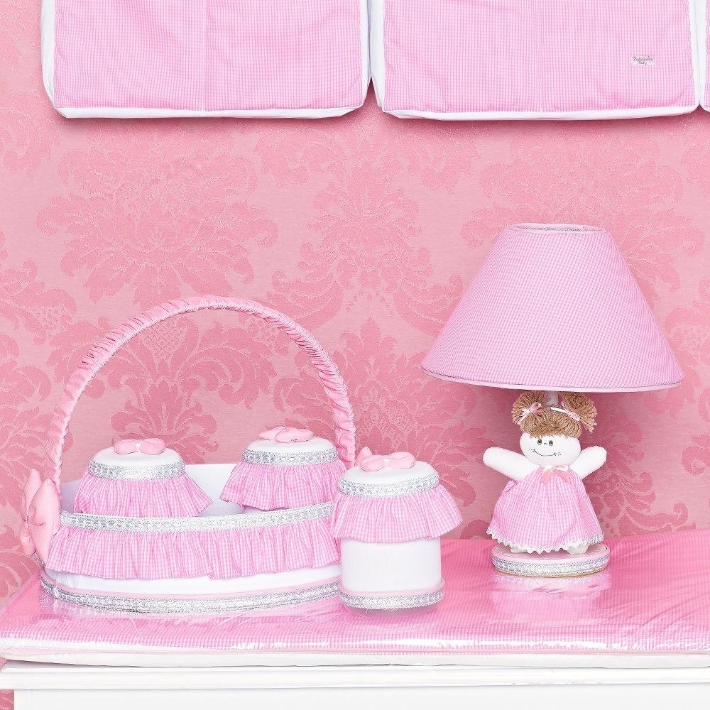 Kit Acessórios Classic Rosa