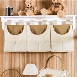 Porta Fraldas Varão Pequenos Ursos