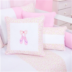 Almofadas Decorativas Bailarina Rosa