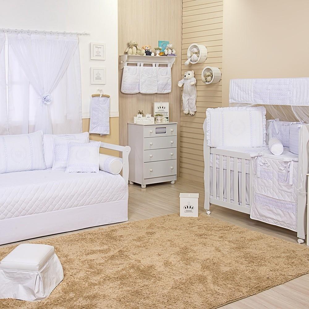 Quarto para Bebê Doçura Branco