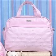 Conjunto de Bolsas Pérolas Rosa