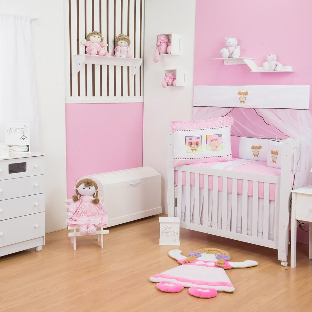 Quarto para Bebê sem Cama Babá Emilia