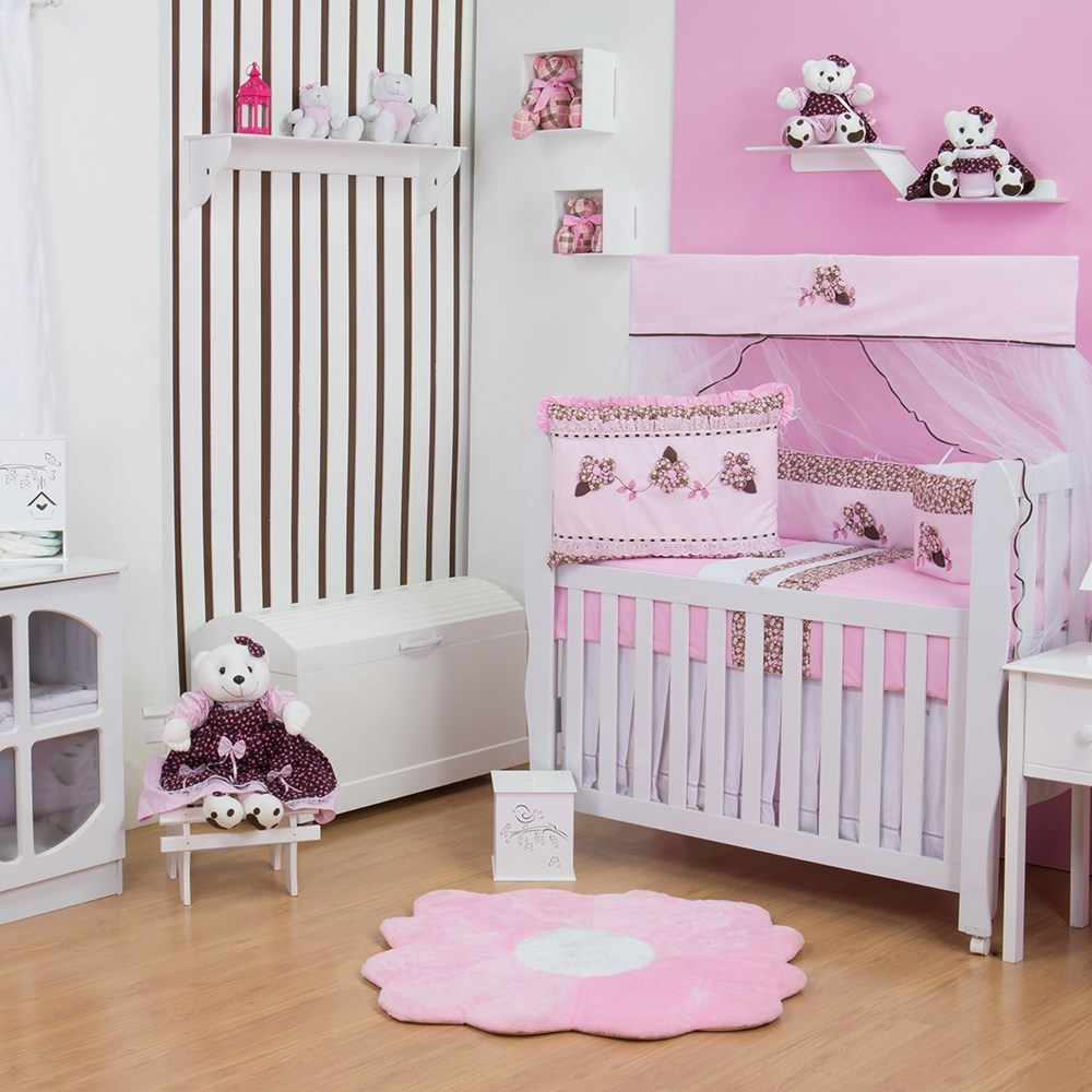 Quarto para Bebê sem Cama Babá Margarida