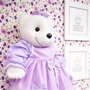 Ursa Porta Fraldas Nina Poá Lilás