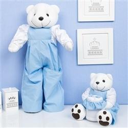 Ursinhos Porta Treco Teddy Azul