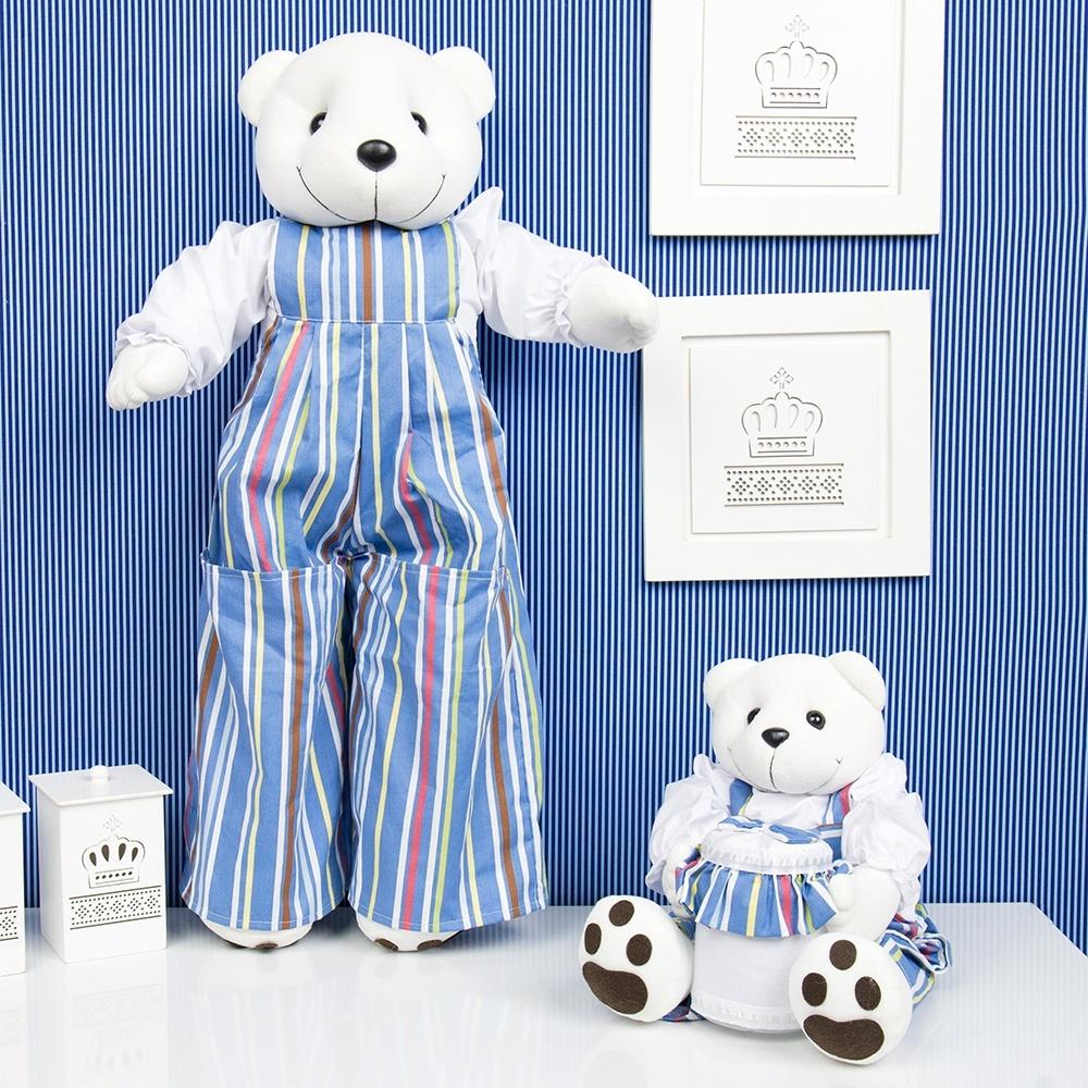 Ursinhos Porta Treco Teddy Listrado