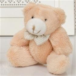 Urso P Caramelo com Gravata
