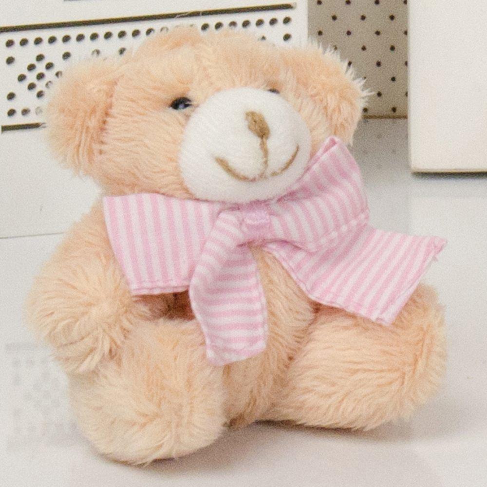 Ursa Mini Caramelo com Laço