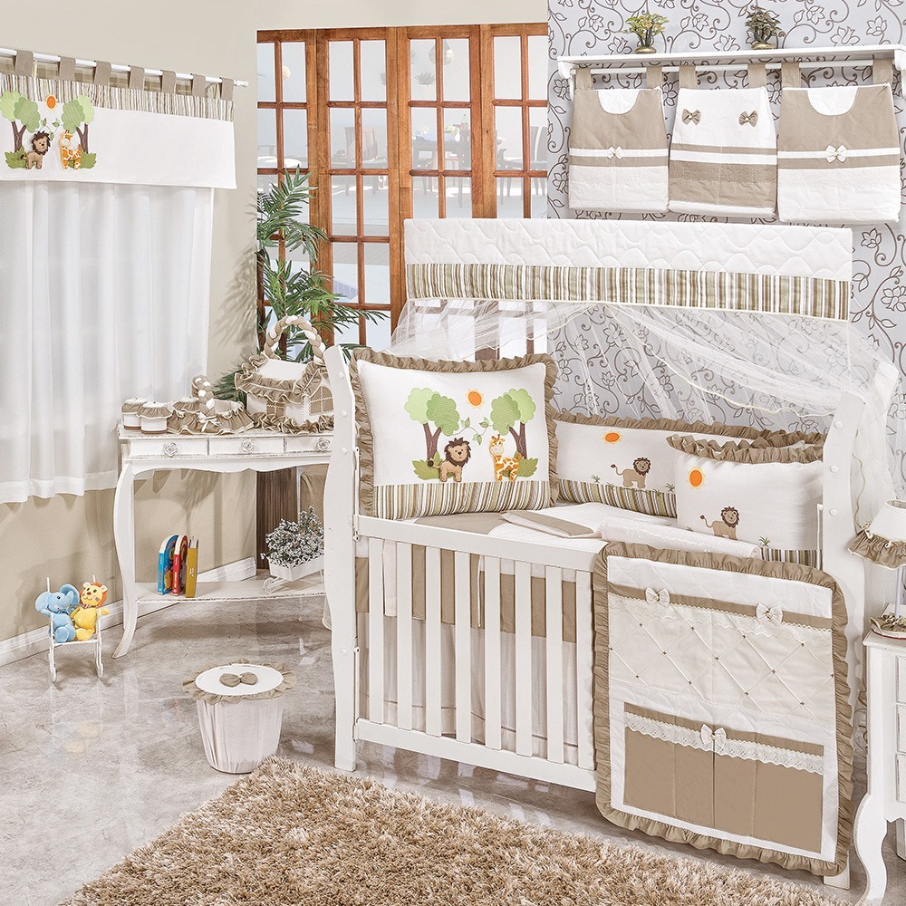Quarto para Bebê sem Cama Babá Savana