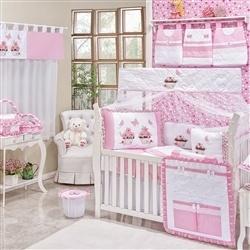 Quarto para Bebê sem Cama Babá Garden