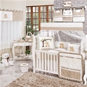Quarto para Bebê sem Cama Babá Charmoso