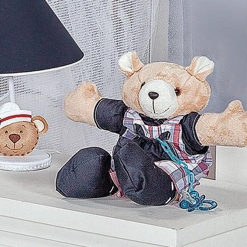 Urso Porta Chupeta Sailor