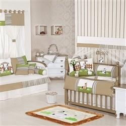 Quarto para Bebê sem Cama Babá Rancho