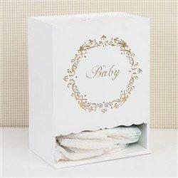 Porta Fraldas Baby Gold