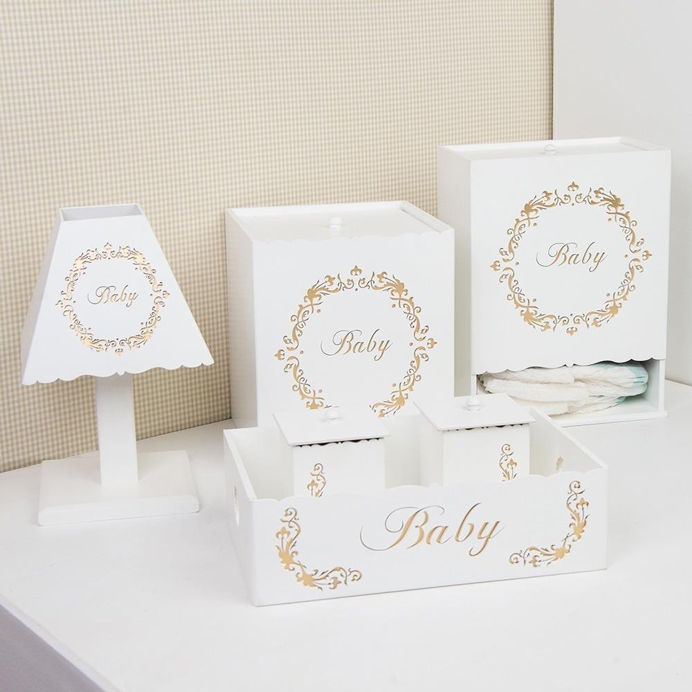 Kit Higiene Baby Gold