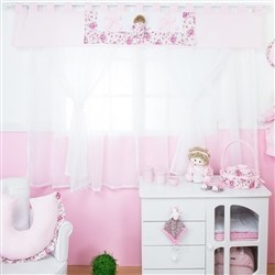 Cortina Elegance Rosa