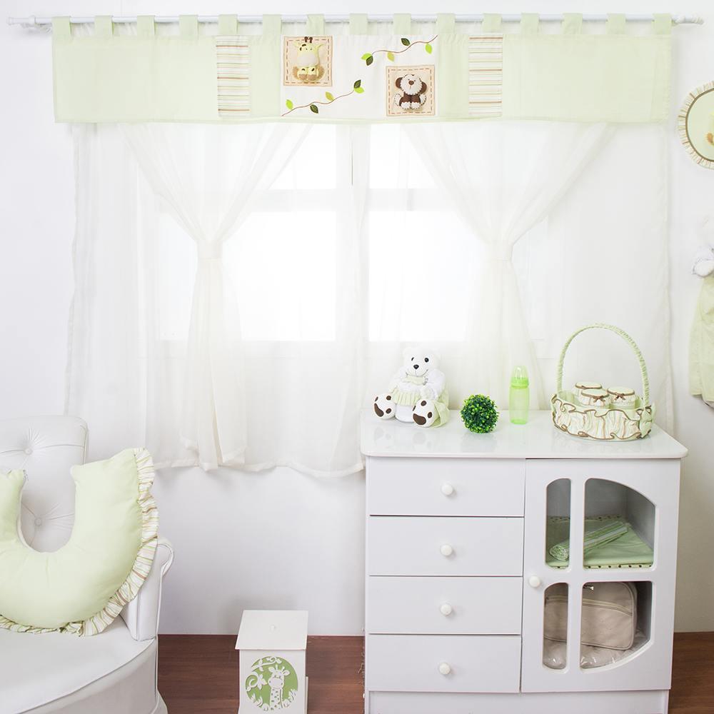 Cortina Bichinhos Baby