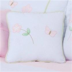 Almofada Decorativa Bordada Cia das Flores