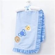 Quarto para Bebê sem Cama Babá Bichos da Selva Azul