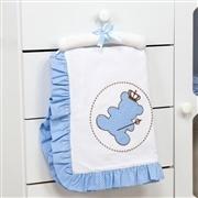 Manta Urso Realeza Azul