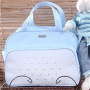 Conjunto de Bolsas Maternidade Spikes Azul