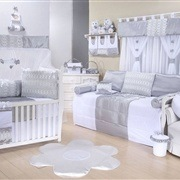 Quarto para Bebê sem Cama Babá Esplendor