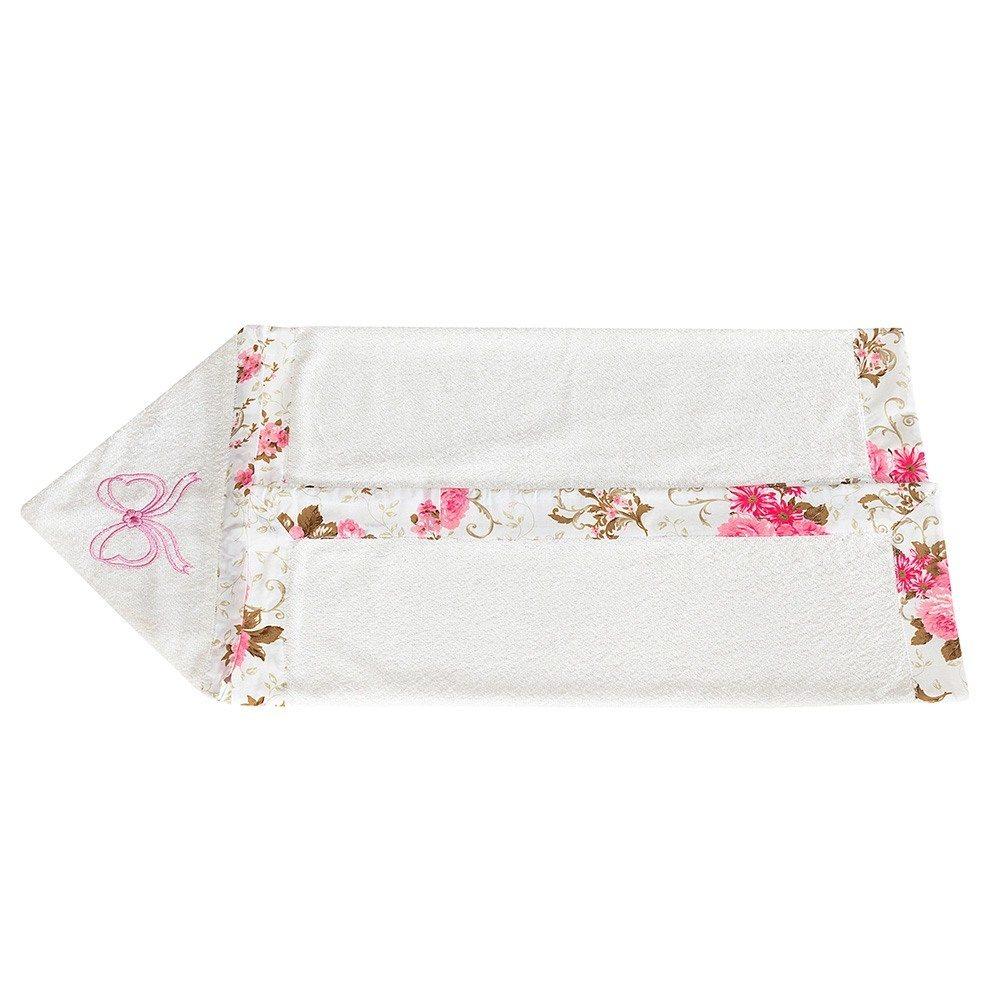 Toalha com Capuz Floral