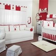 Quarto para Bebê Camponesa Vermelha