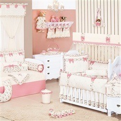 Quarto para Bebê sem Cama Babá Provençal Palha