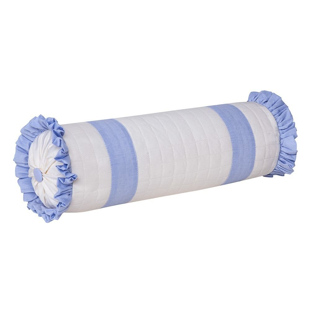 Almofada Rolinho Realeza Azul